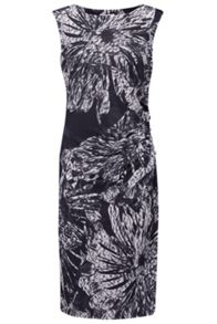 Almost Famous Abstract Monochrome Dress