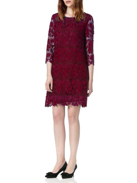 Almost Famous Lace Swing Dress