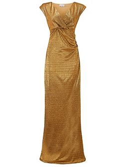 Metallic Foil Gown