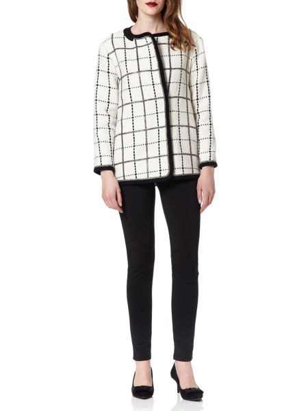 Almost Famous Checkered Jacket