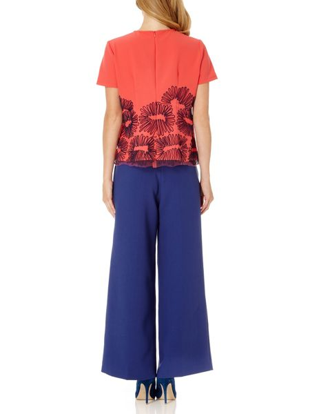 Almost Famous Embroidered Top