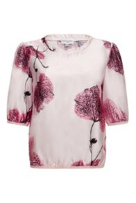 Almost Famous Floral Blouse