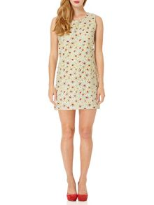 Almost Famous Embroidered Floral Dress