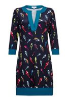 Almost Famous Bird Print Tunic