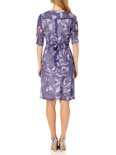 Almost Famous Rope Print Shirt Dress