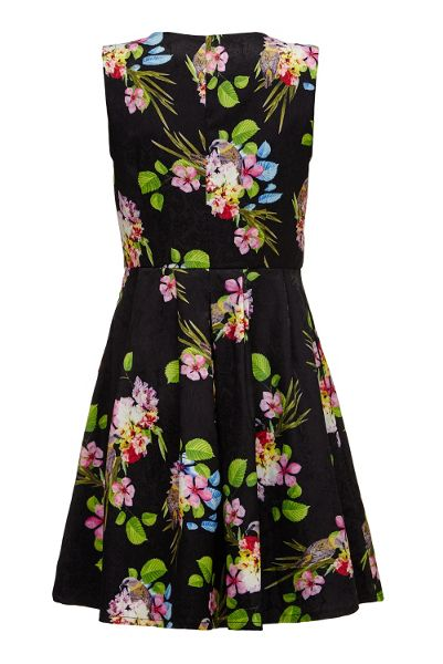 Almost Famous V-Neck Garden Party Dress