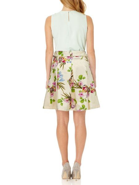Almost Famous Floral Garden Party Skirt