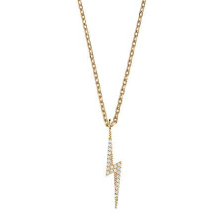 Estella Bartlett EB1393C Lightning Bolt Necklace
