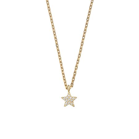 Estella Bartlett EB1399C Star Necklace