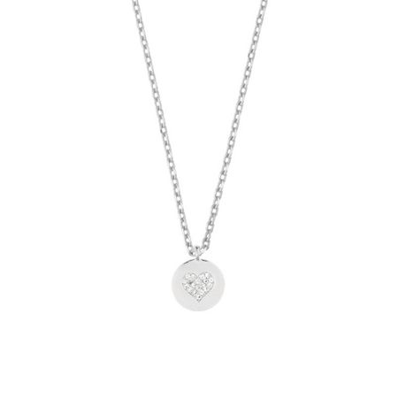 Estella Bartlett EB1357C Disc Necklace