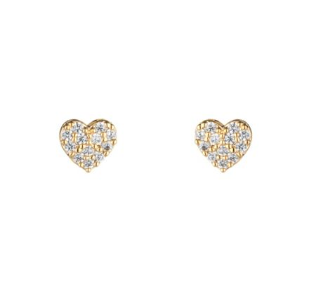 Estella Bartlett EB1417C Heart Earrings
