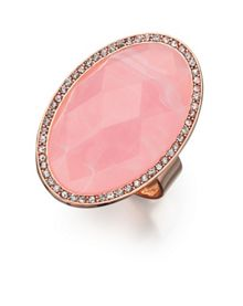 Preciosa crystal oval ring