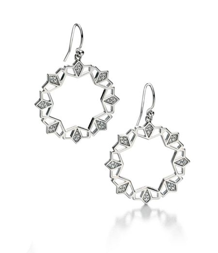 Fiorelli Silver Cubic zirconia drop earrings