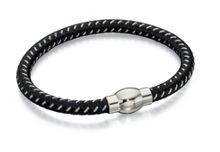 Fred Bennett Black and grey bracelet