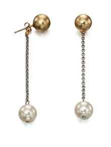 Fiorelli Costume Stud earring with pearl drop