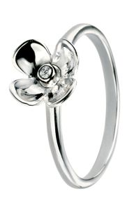 Elements Silver Silver flower ring