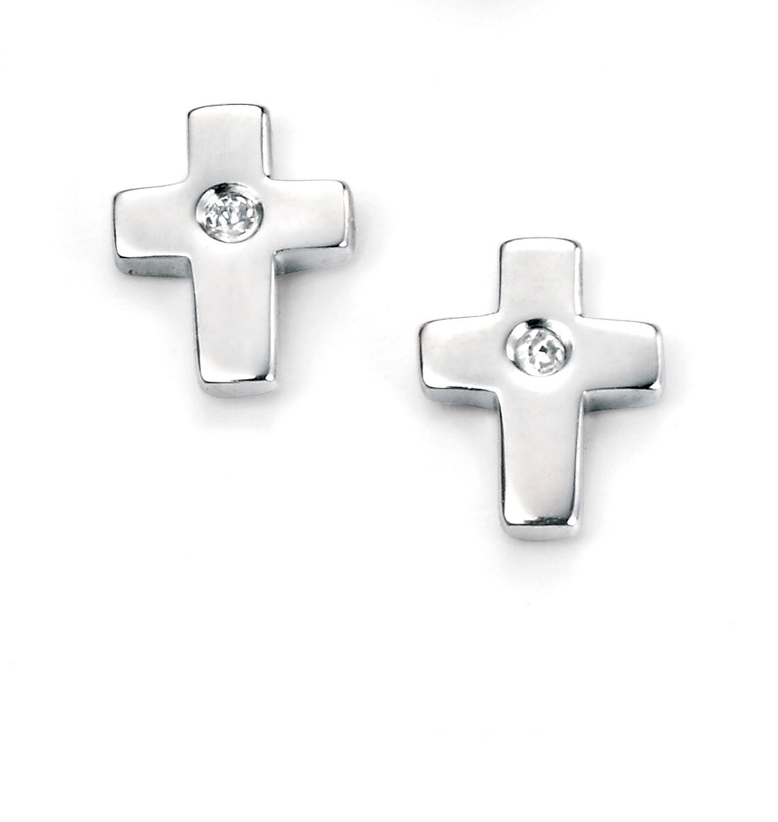 d for diamond e5156 childrens earrings
