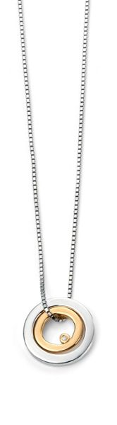 D for Diamond P4373 childrens necklace