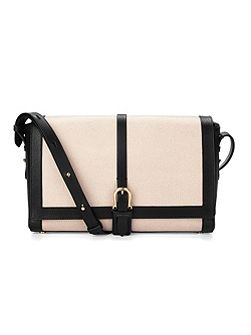 Aspinal of London Buckle shoulder bag