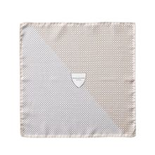 Aspinal of London Shield pattern pocket square