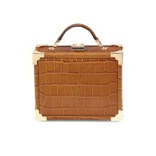 Aspinal of London Mini trunk bag