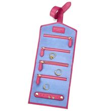 Jewellery roll with tab