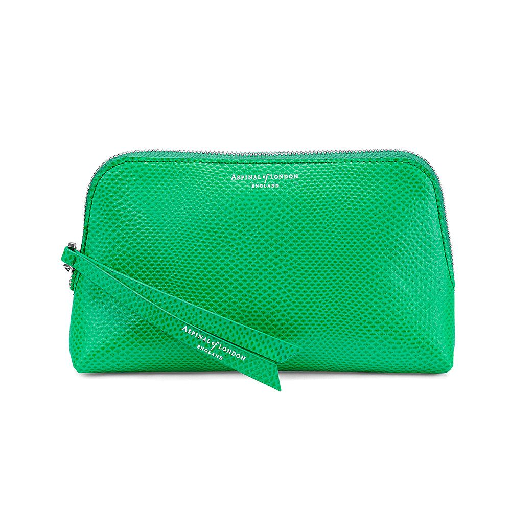 Aspinal of London Essential make up bag Grass