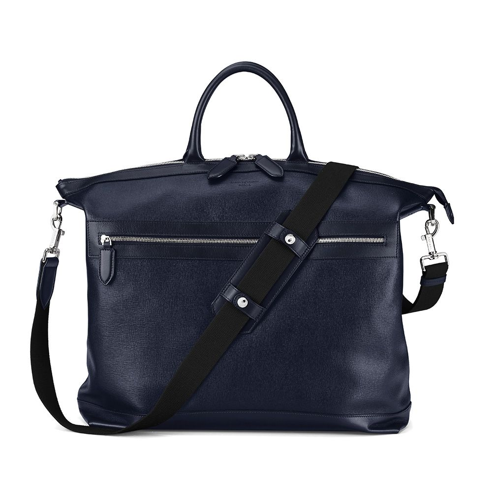 Aspinal of London Mount street tote Navy