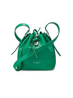 Aspinal of London Mini padlock bucket bag