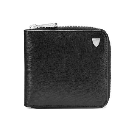 Aspinal of London Mount street zip breast wallet