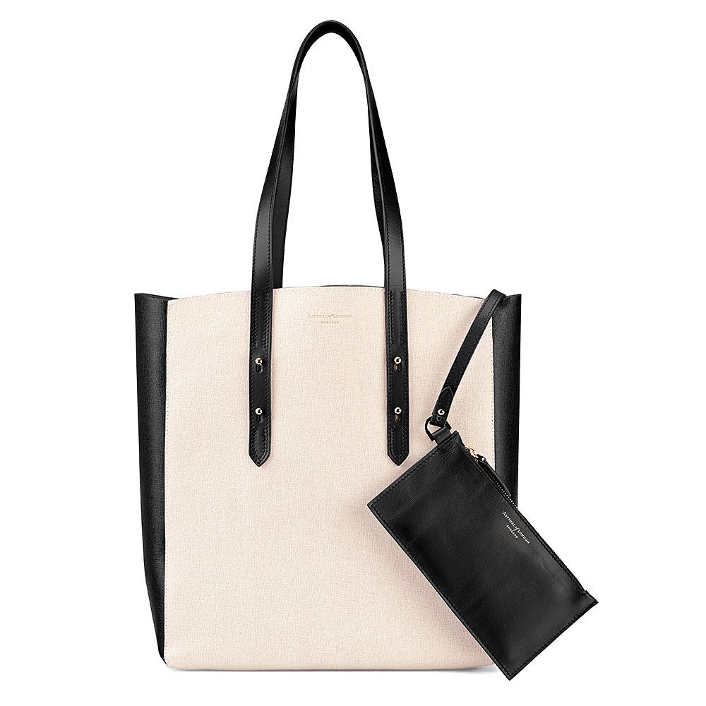 Aspinal of London Essential tote bag Monochrome