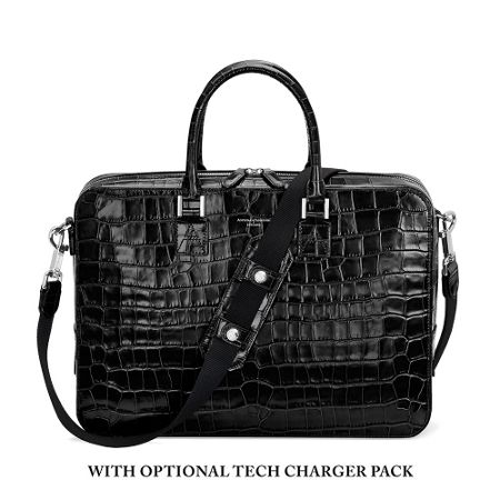 Aspinal of London Mount street small briefcase