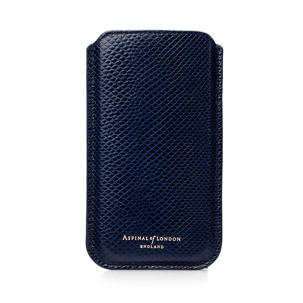 Aspinal of London Iphone 6 sleeve Blue