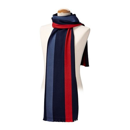 Aspinal of London University Stripe Scarf