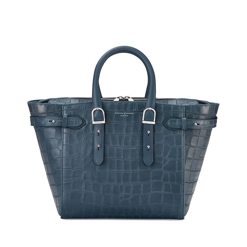 Aspinal of London Aspinal of London Marylebone medium tote, Teal