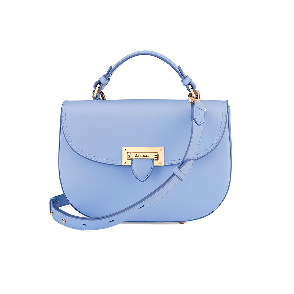 Aspinal of London Aspinal of London Letterbox saddle bag, Blue