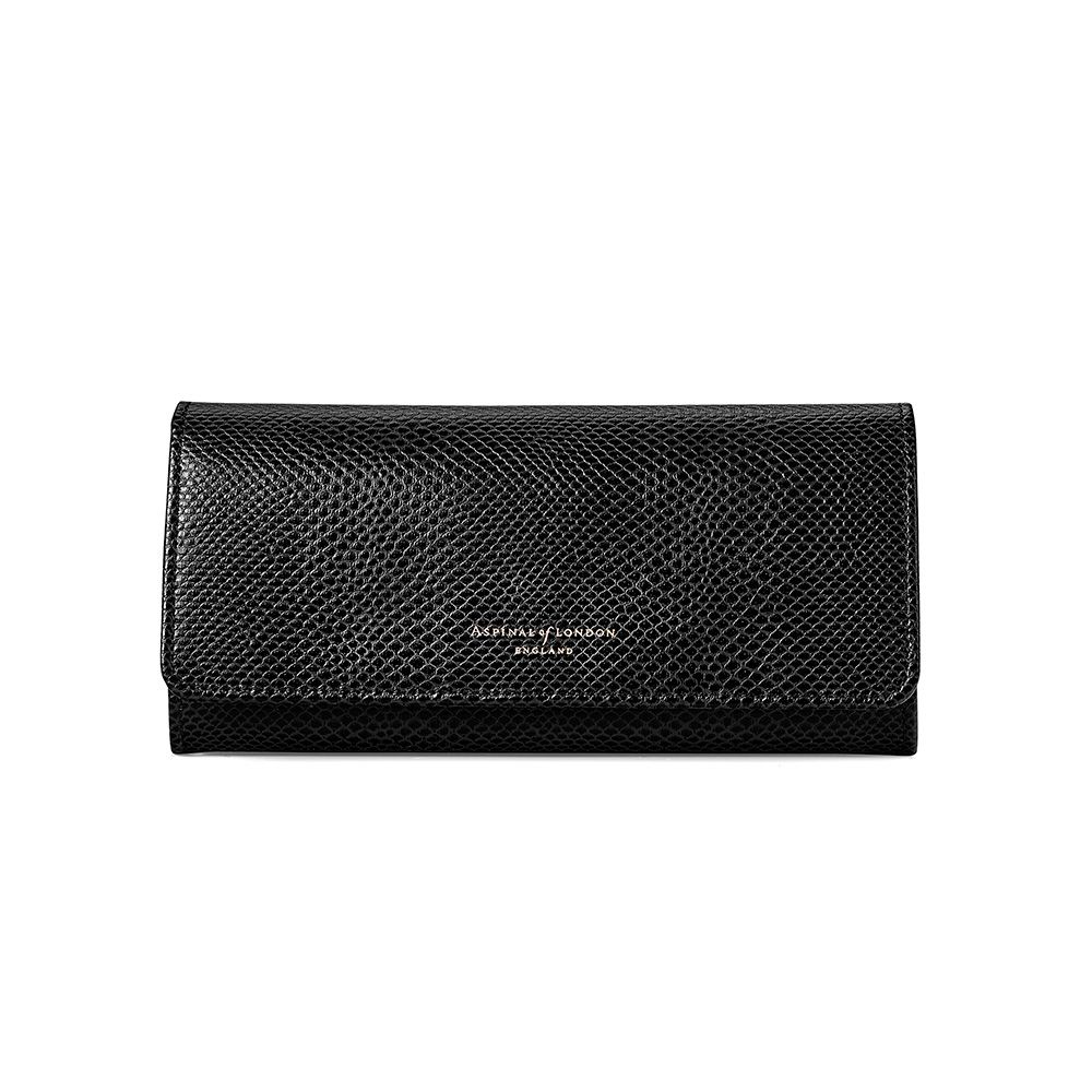 Aspinal of London Julie purse, Black