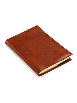 Rustic refillable journal antique brown A5