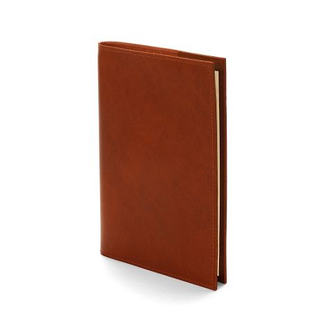 Aspinal of London Rustic refillable journal antique brown A5