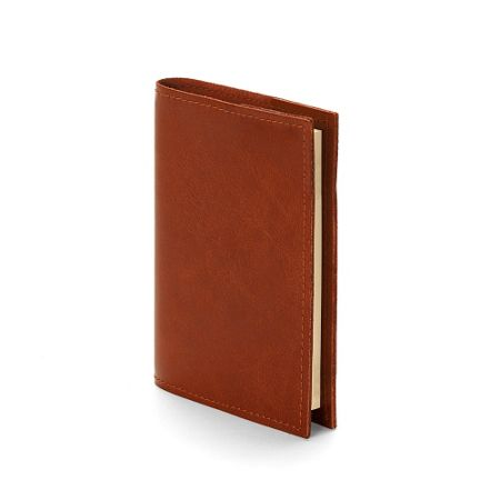 Aspinal of London Rustic refillable journal antique brown A7