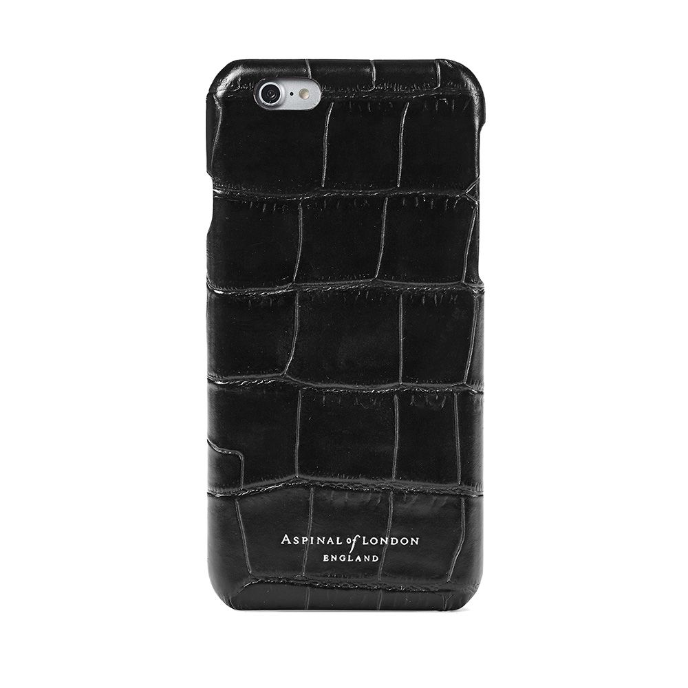 Aspinal of London Aspinal of London Iphone 6 cover case, Black