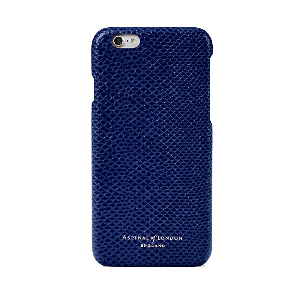 Aspinal of London Aspinal of London Iphone 6 cover case, Midnight Blue