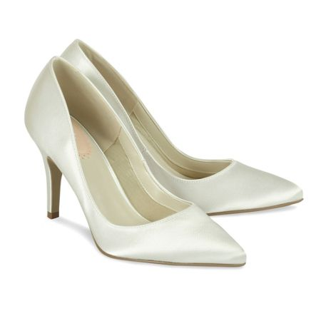 Paradox London Pink Flush Pointed Court Shoes