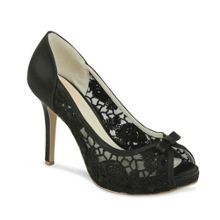 Zinnia lace platform shoes