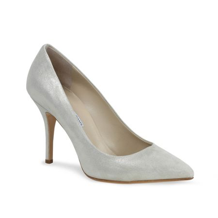 Benjamin Adams Glimmer leather `Candice` court shoes