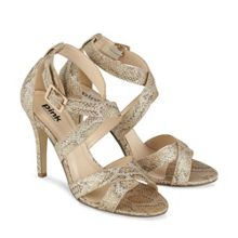 Rococo` cross strap sandal shoes