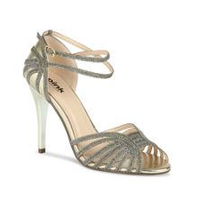 Story strappy lurex sandals