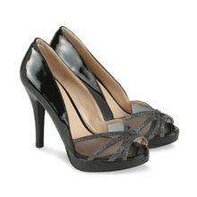 Thrill peep toe platform shoes