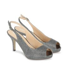 Fiesta` peep toe platform shoes