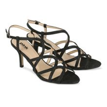 Paradox London Pink Caged `Rich` sandal shoes